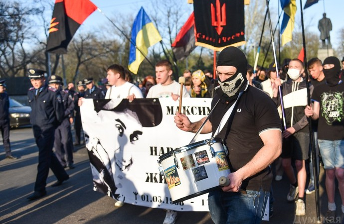 Official statement of Ukrainian President on April 22 is the beginning for persecution of antifascists in Ukraine?