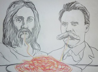 Nietzsche and Christ