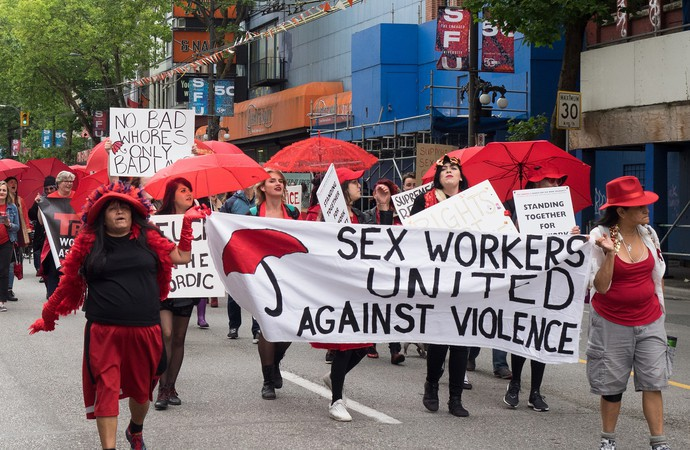 Sex work: Solidarity not salvation