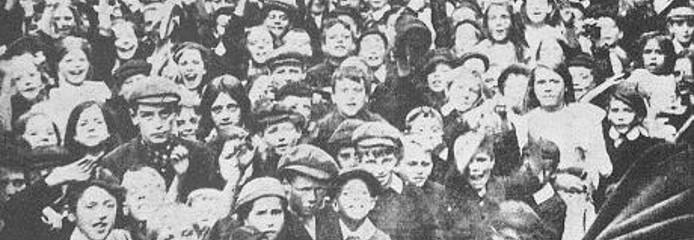 Страйк дітей у Галлі в 1911 році