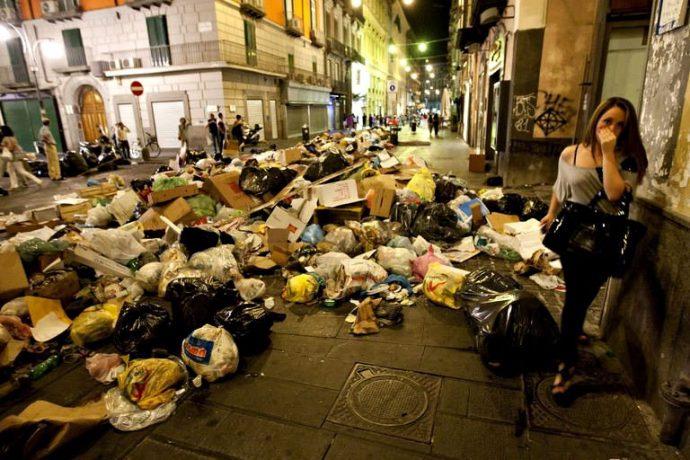 Неаполь преступность